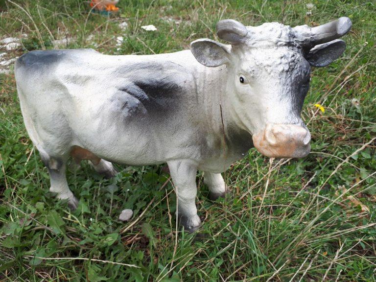 """Садовая фигура """"Корова маленькая"""" - 1"""