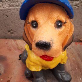 """Садовая фигура """"Собака в шляпе"""" - 1"""